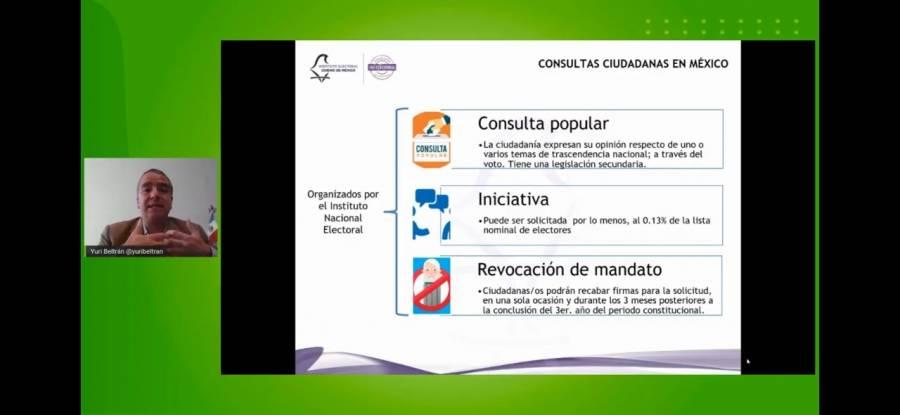 Beltrán Miranda destaca importancia de participación ciudadana en situación de pandemia