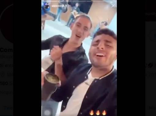 VIDEO: Uriel Antuna y Alexis Vega de Chivas, se van de fiesta