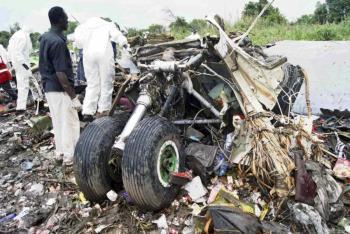 Avión se estrella en Sudán del Sur; reportan siete personas fallecidas
