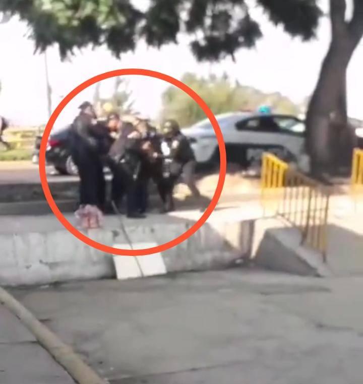 Policías de la CDMX se pelean entre sí en la GAM