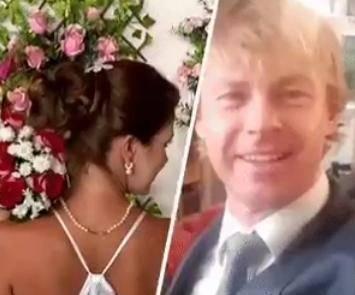 Una brasileña y un alemán se casan por Internet; se conocieron virtualmente