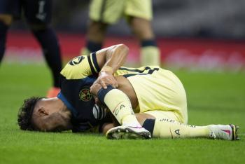 Bruno Valdez se lesiona la rodilla y dice adiós al torneo