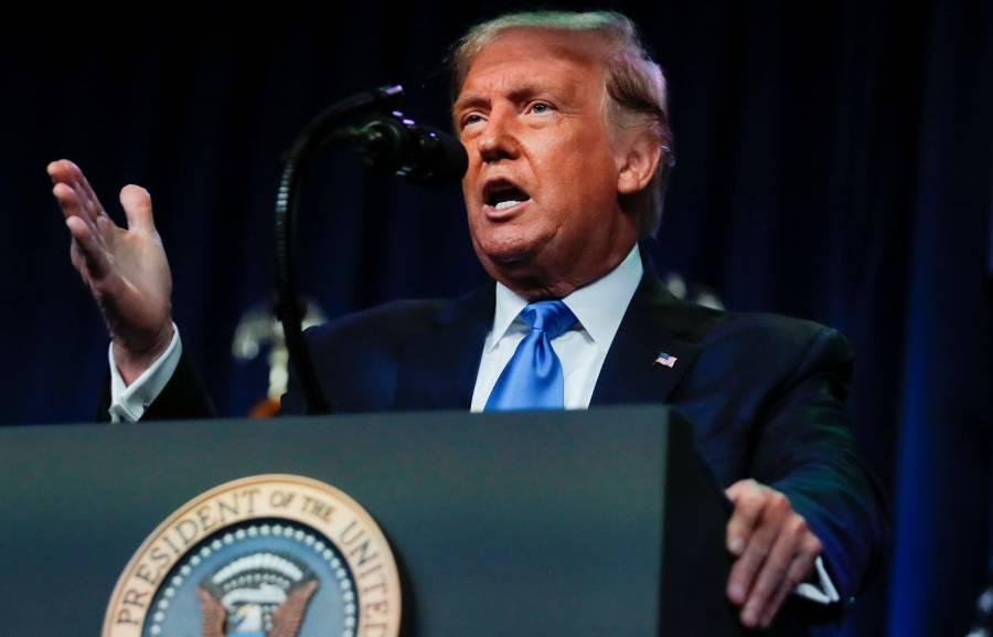 """Trump asegura que los demócratas solo ganarían elección haciendo """"trampa"""""""