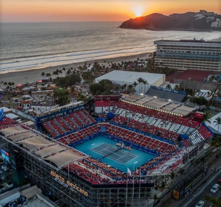 Abierto Mexicano de Tenis solo venderá el 50% de aforo