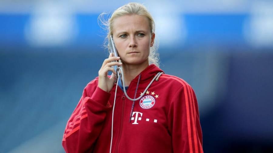 Kathleen Kruger, pieza clave del Bayern Múnich campeón de la Champions League