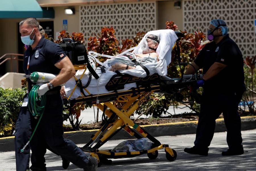 Florida rebasa 10,000 muertes por Covid;  más de 26 mil mexicanos, en peligro