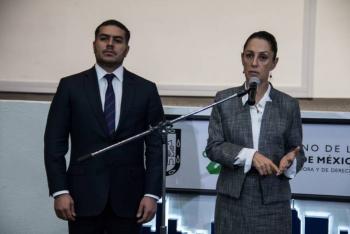 Amenazas contra García Harfuch son por su trabajo contra la delincuencia: Sheinbaum