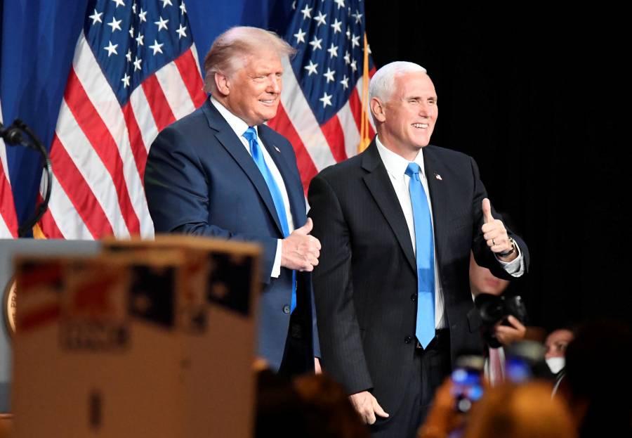 Con el fantasma del fraude y abajo en  las encuestas, Trump ya es candidato