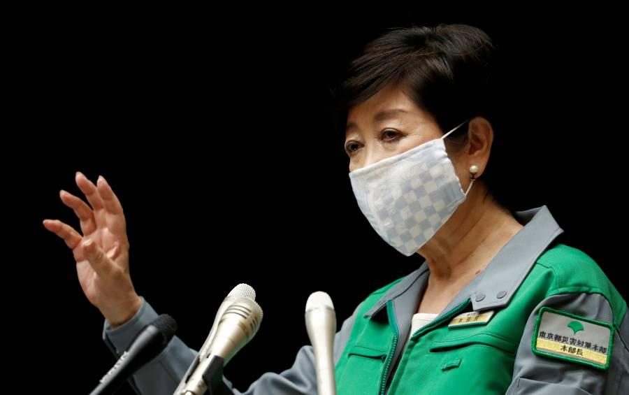 Gobernadora de Tokio celebra mejoría sobre el COVID-19 y ya espera los JO