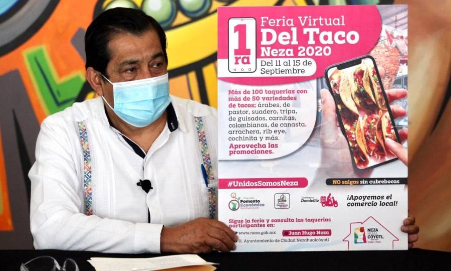 ANUNCIAN PRIMERA FERIA VIRTUAL DEL TACO NEZA 2020