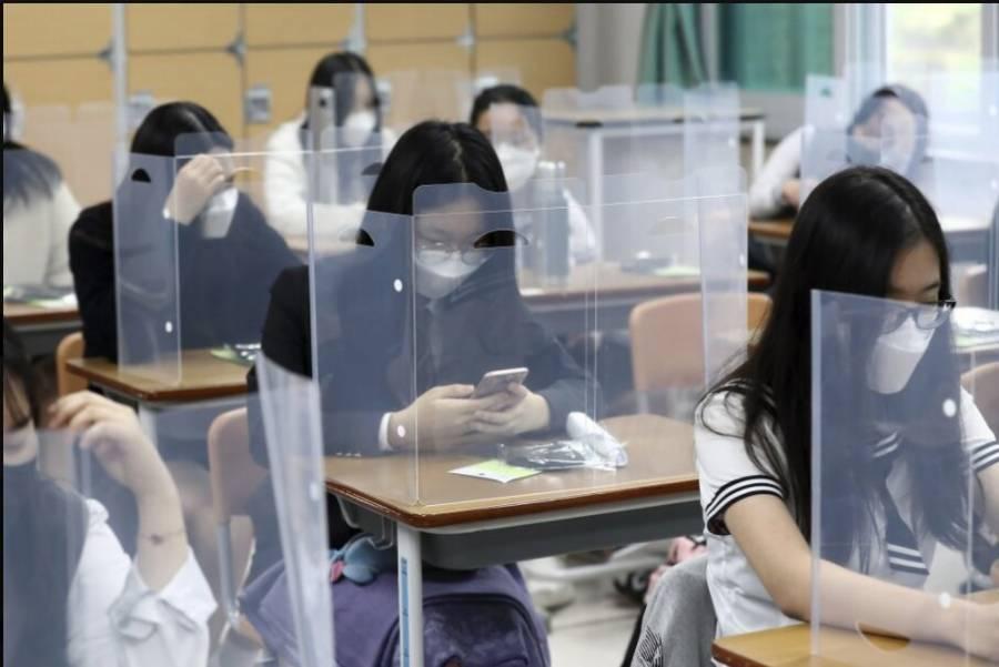 Cierran escuelas en Surcorea ante rebrotes