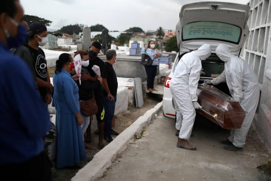 Brasil llega a 117 mil 666 muertes por COVID-19