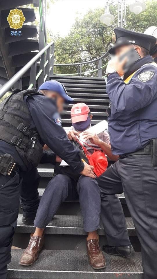Policías de CDMX evitan suicidio de hombre en Xochimilco