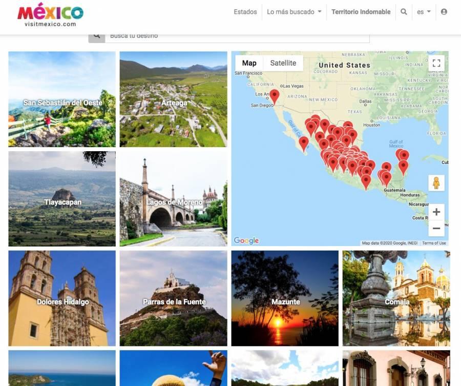 Presentan VisitMéxico corregido y aumentado