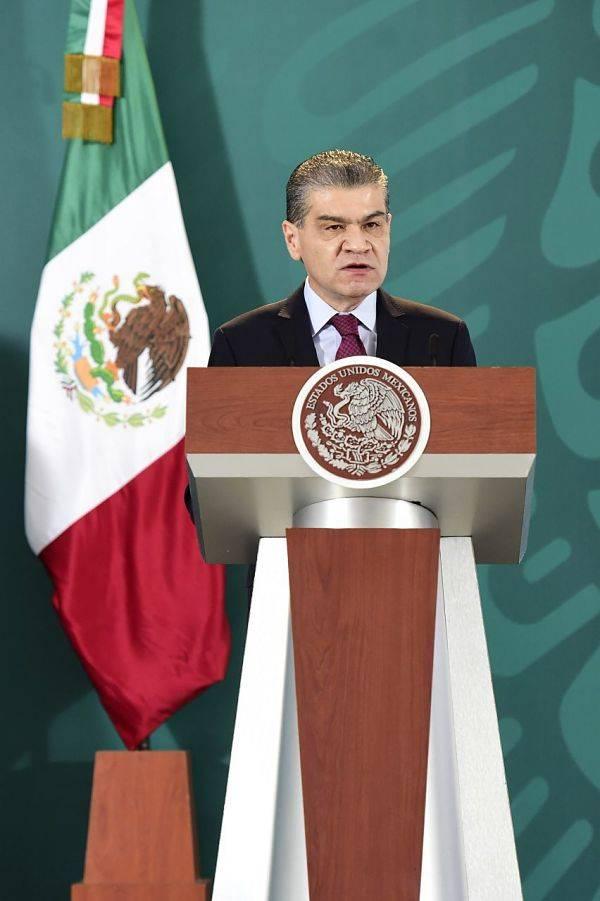 """Gobernador de Coahuila pide unión a AMLO; """"no se le ha regateado apoyo"""""""