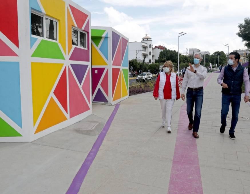 Del Mazo supervisa construcción del nuevo Nuevo Andador Zaragoza