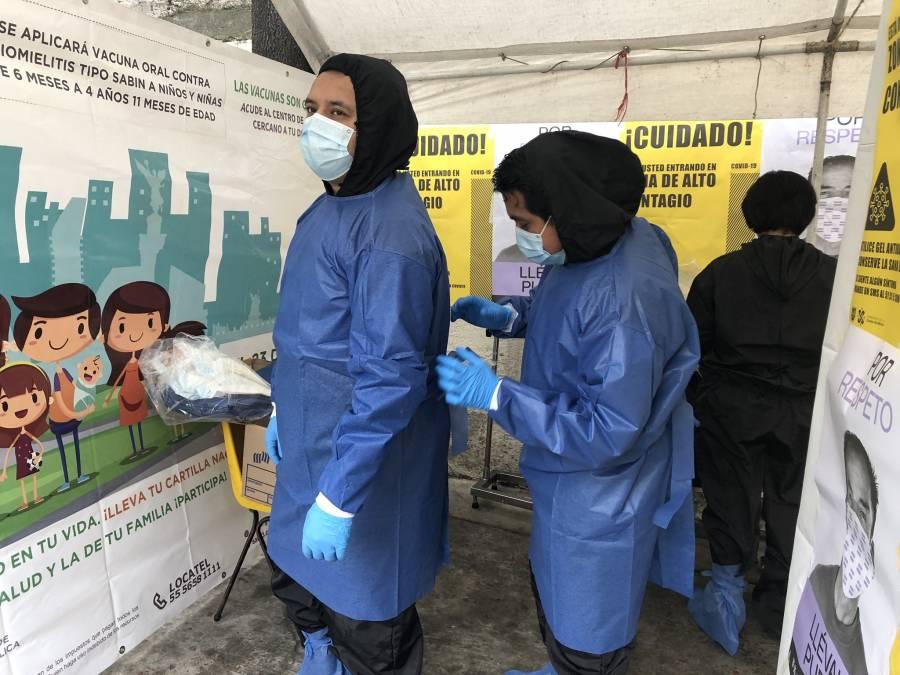 Instalan 70 kioscos de Salud en 157 colonias de CDMX para detectar Covid-19