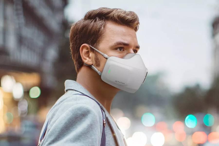 LG lanza mascarilla con ventiladores para respirar mejor