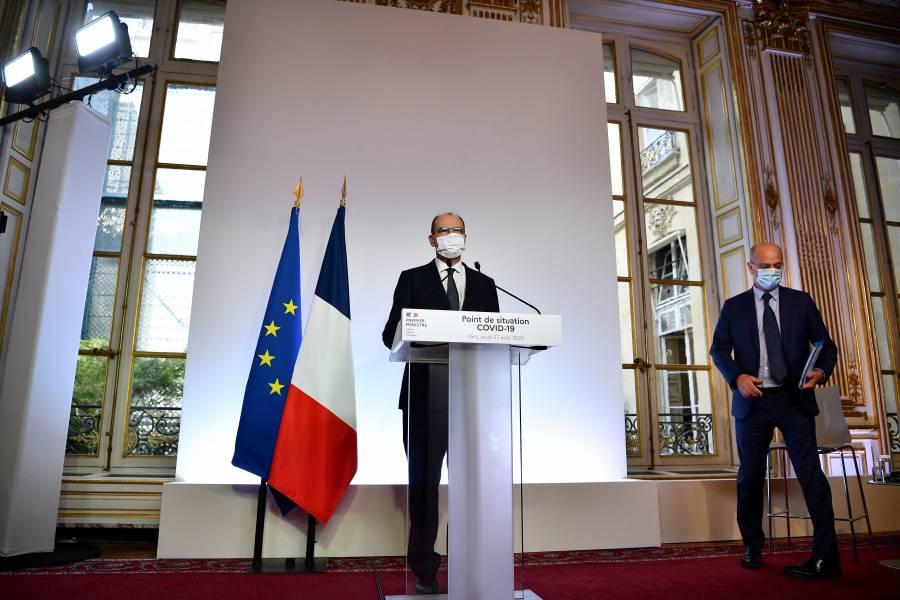 Francia hace obligatorio el uso de mascarillas en todo París