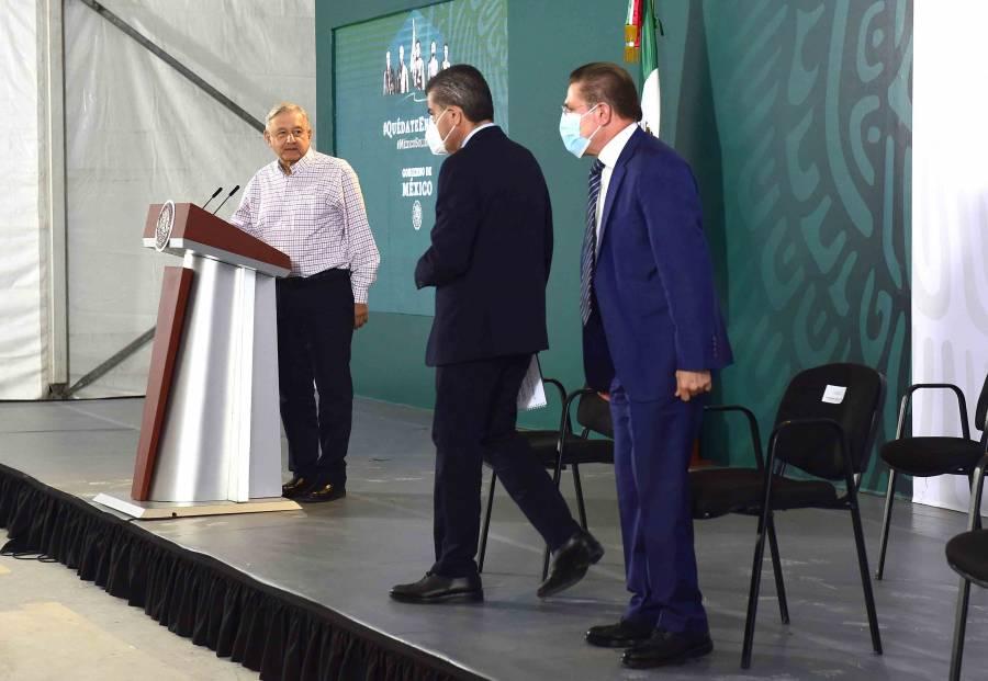 GOBERNADORES DE COAHUILA Y DURANGO PIDEN MÁS RECURSOS