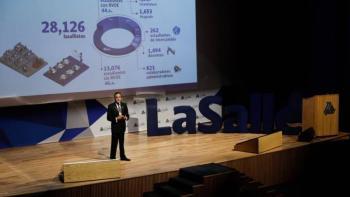 Rector de La Salle presenta su noveno informe anual