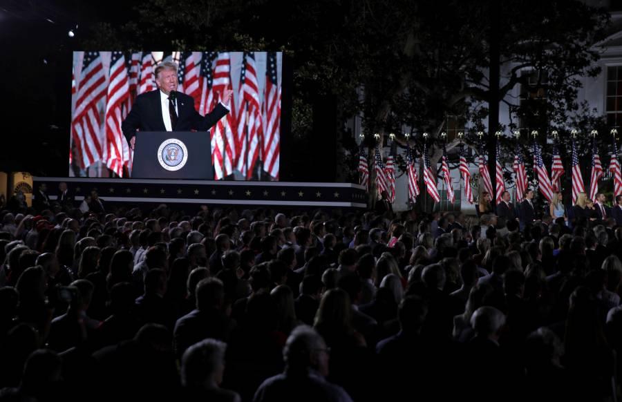 Trump ofrece más empleos y mejor  economía a cambio de 4 años más