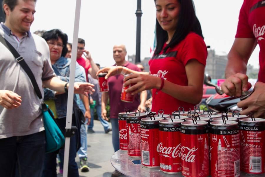 Coca-Cola Femsa quiere ampararse contra nuevo etiquetado