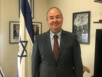 """Zvi Tal Embajador de Israel en México: """"Gaza está convertido en  un territorio terrorista"""""""