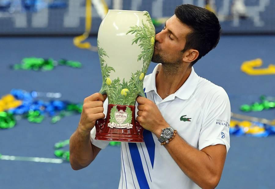 Djokovic gana en Cincinnati y alcanza a Nadal en títulos de Masters 1000