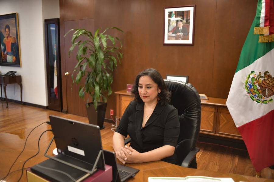 Irma Eréndira Sandoval propone reformas a la Ley de Adquisiciones