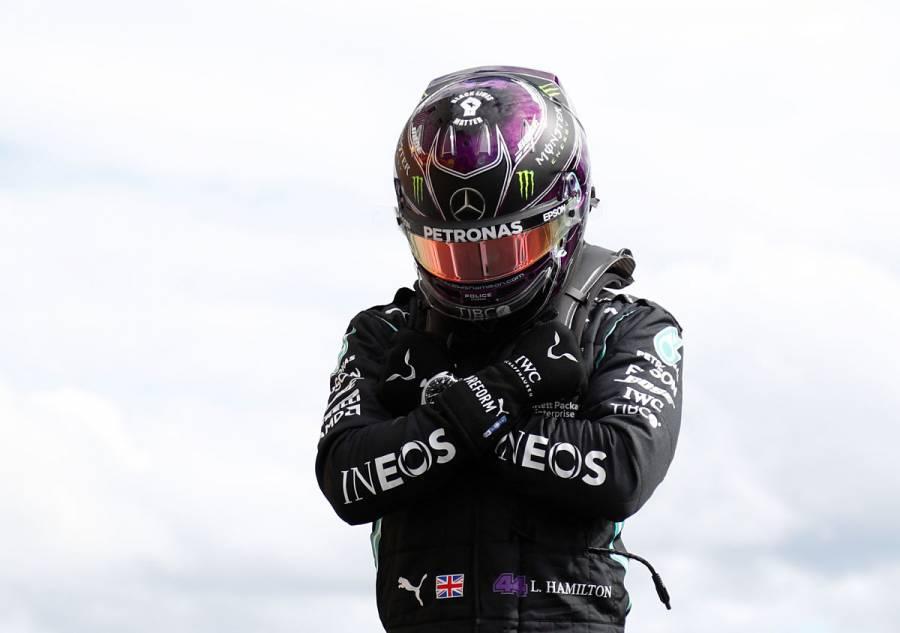 Lewis Hamilton le dedicó su pole position a Chadwick Boseman