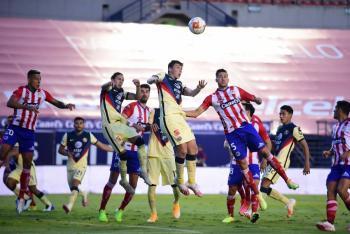 El América se logra imponer al San Luis 2-1 en la capital potosina