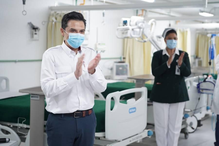IMSS reconvierte unidades hospitalarias para combatir emergencia sanitaria