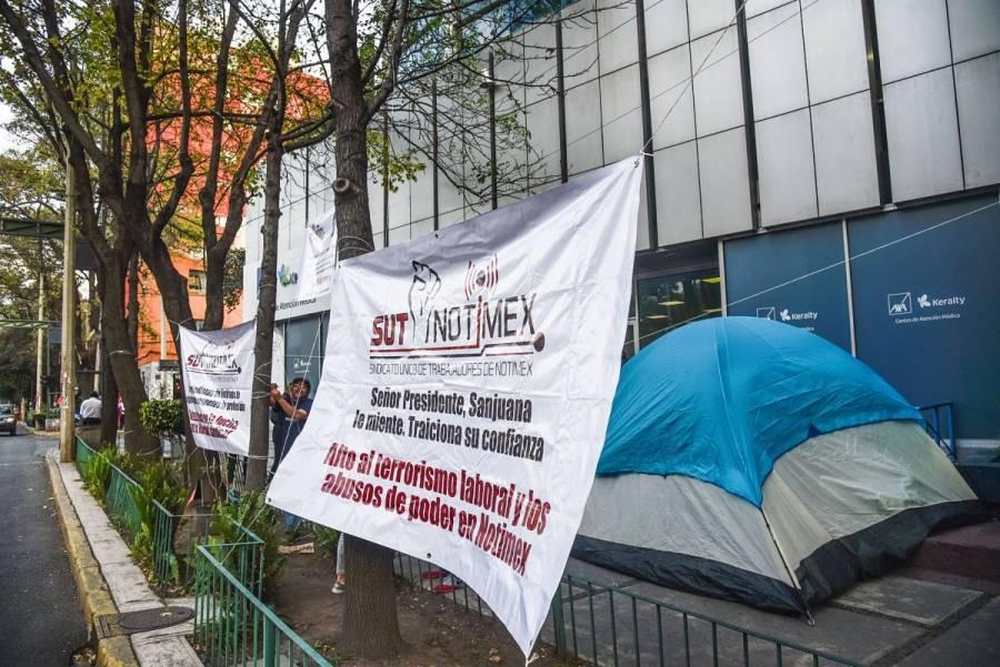 Pedirán a legisladores establecer Comisión para resolver Huelga en Notimex