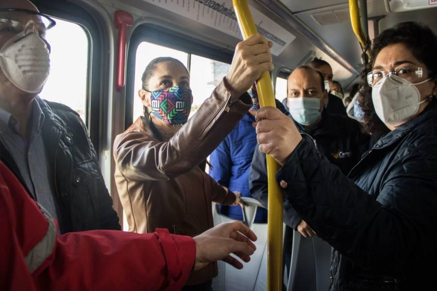 El 7 de septiembre comienza la ampliación de la Línea 5 del Metrobús