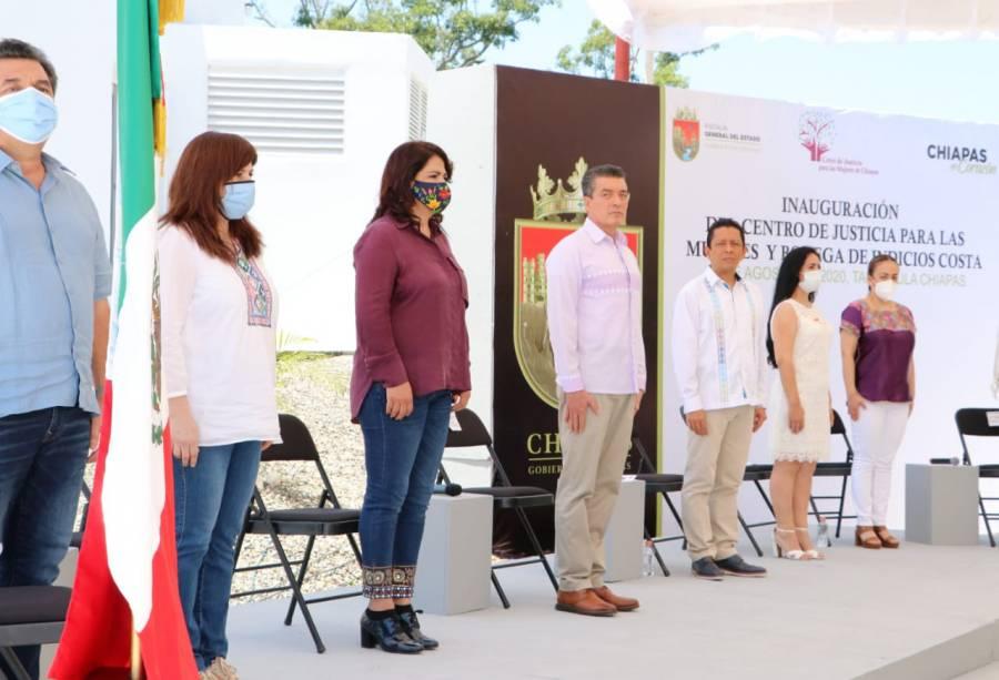 Inauguran Centro de Justicia para mujeres en Tapachula