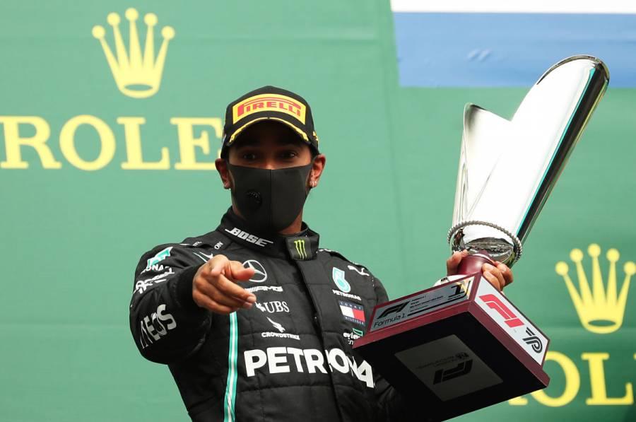 Hamilton gana el GP de Bélgica y estira su ventaja en el campeonato