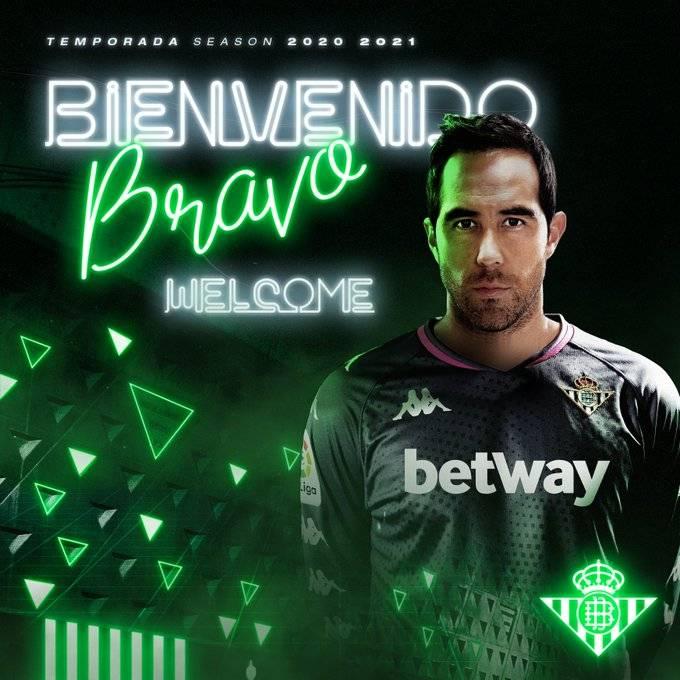 ¡Bombazo! Claudio Bravo, nuevo portero del Betis