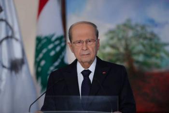 Presidente de Líbano pide proclamar un