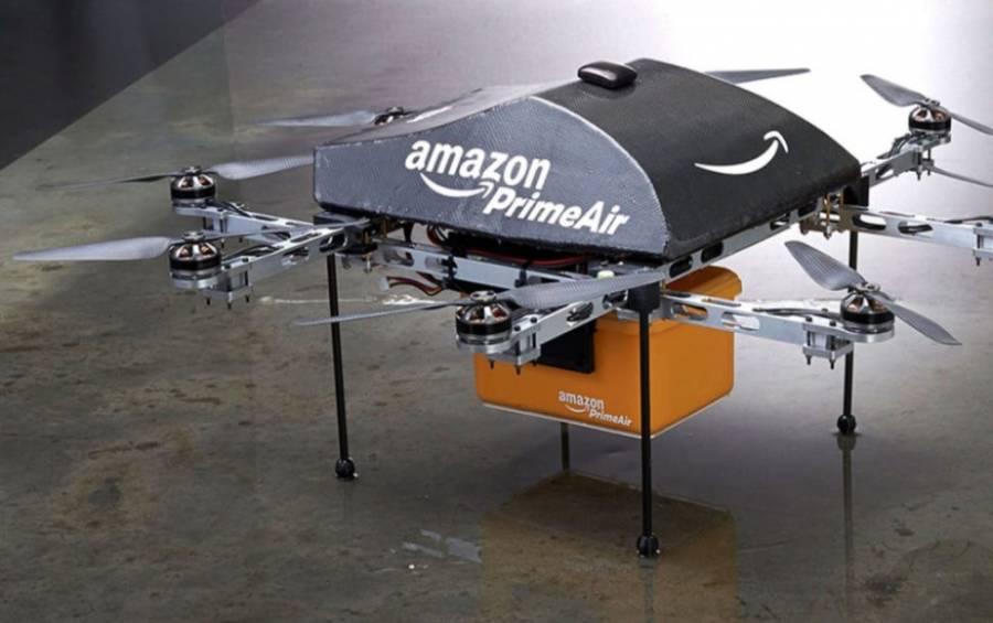 Le aprueban a Amazon hacer entregas con drones
