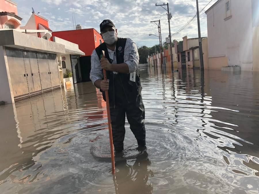 Protección Civil de Soledad activa protocolos de seguridad ante contingencia por fuertes lluvias