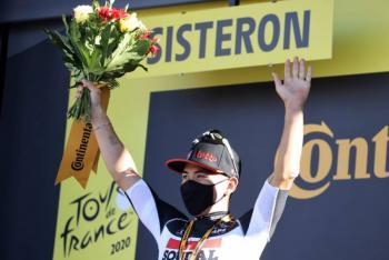 Ewan supera a Bennett y gana la tercera etapa del Tour de Francia