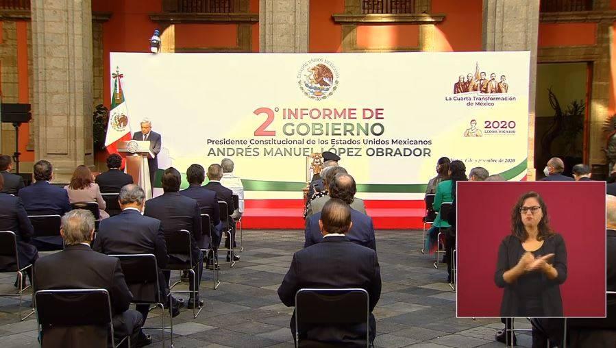 Crisis económica y de salud, temas centrales en Segundo Informe Presidencial