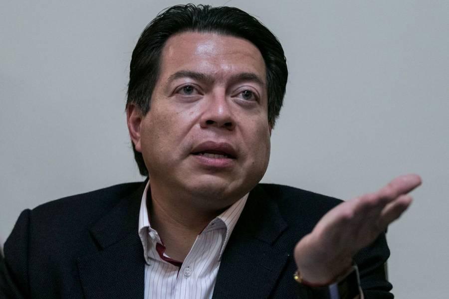 """""""Hubo voto libre en el Pleno"""", responde Delgado a Noroña"""