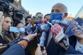 Arriban invitados a Segundo Informe AMLO a Palacio Nacional
