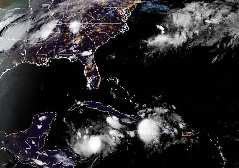 Alerta Azul en el estado de Quintana Roo por paso de Tormenta tropical Nana