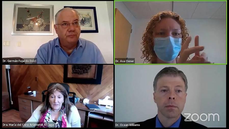 Telemedicina alternativa para estudiantes y residentes durante la pandemia