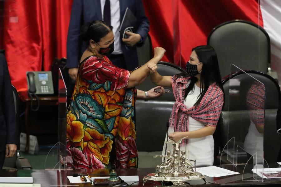 APRUEBAN A DULCE MARÍA SAURI RIANCHO COMO NUEVA PRESIDENTA DE SAN LÁZARO