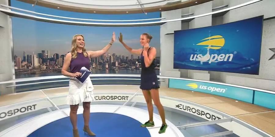 Entrevistas a hologramas impactan en la cobertura del US Open