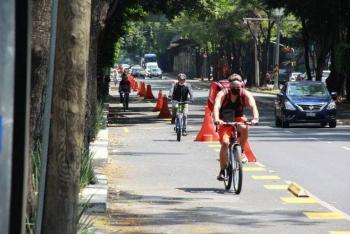 Lanzan el primer mapa interactivo para ciclistas de la CDMX